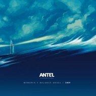 Memoria y Balance Anual 2009 (.pdf 5Mb) - Antel