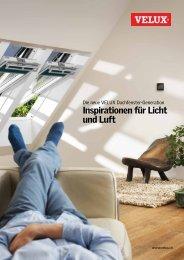 Inspirationen für Licht und Luft - VELUX Schweiz AG