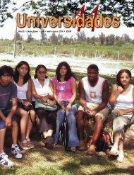 Revista Universidades Número 44, Enero - Marzo de 2010 - udual