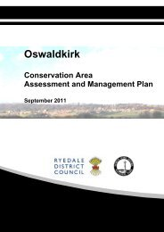 Oswaldkirk Conservation Area Assessment & Management Plan ...
