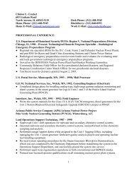 Clinton E. Crackel Resume 2010.1