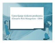 Upravljanje rizikom preduzeća