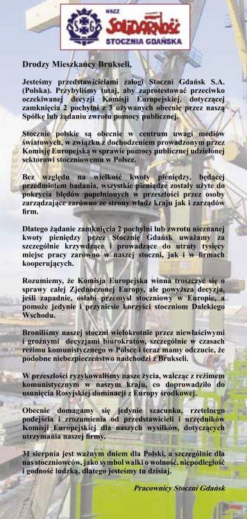 Aby zobaczyć ulotkę kliknij tutaj - PortalMorski.pl