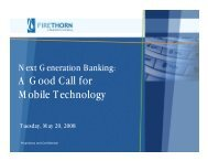 A Good Call for Mobile Technology