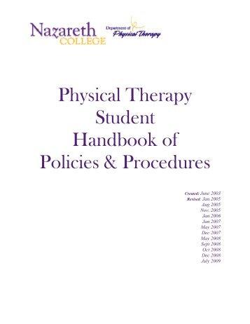 handbook of procedures for the graduation The graduate school policies & procedures manual online and pdf formats.