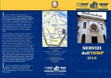 Carta dei Servizi 2013.pdf - Inmp