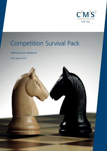 Competition Survival Pack 5th Edition