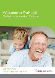 Welcome to PruHealth