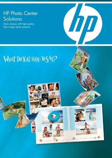 HP Photo Center Solutions - Hewlett-Packard