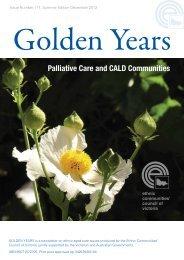 Palliative Care and CALD Communities - Ethnic Communities ...