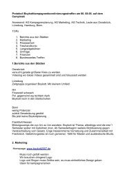 Protokoll Boykottkampagnenkoordinierungsstreffen am 06. 08.06 ...