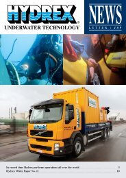 Hydrex newsletter 189 - Hydrex Underwater Technology