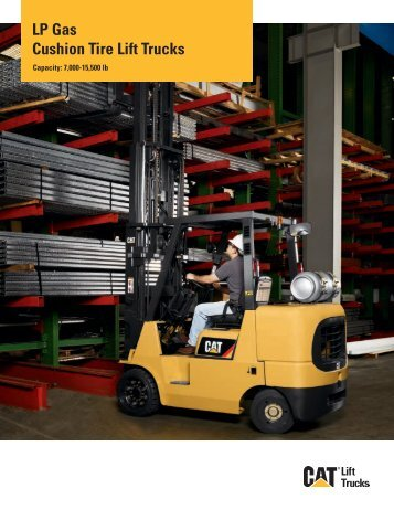 LP Gas Cushion Tire Lift Trucks - Cat Lift Trucks