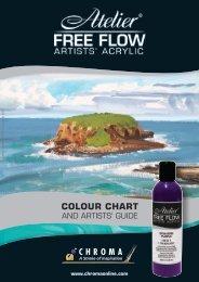 Atelier Free Flow Colour Chart 2.65 MB - Chroma