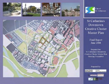 Downtown Creative Cluster Master Plan - City of St. Catharines
