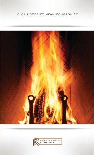 Renaissance Wood Fireplaces Brochure - The Firebird