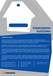 Titancink CC Plus - Cinkarna Celje