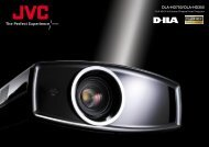 DLA-HD750/DLA-HD350 - Projector Reviews