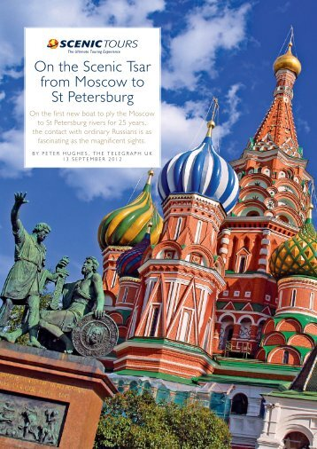 On the Scenic Tsar from Moscow to St Petersburg - Searle Travel