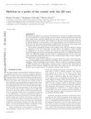 arXiv:astro-ph/0307003 v1 30 Jun 2003 - iucaa