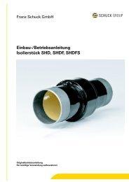 Einbau- und Betriebsanleitung - Franz Schuck GmbH