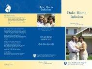 Duke Home Infusion - Duke University Medical Center
