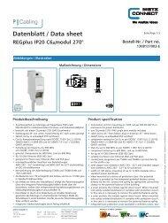 Datenblatt / Data sheet - Sonepar