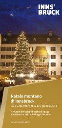 Natale montano di Innsbruck - Christkindlmarkt Innsbruck