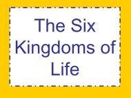 The Six Kingdoms of Life