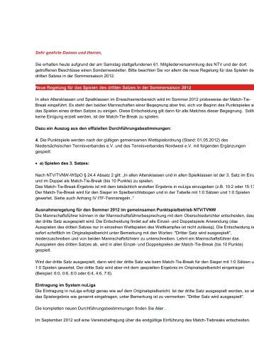 NTV Newsletter - Ntv-oldenburger-muensterland.de