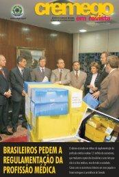 cremego julho 2006.qxp - Conselho Federal de Medicina