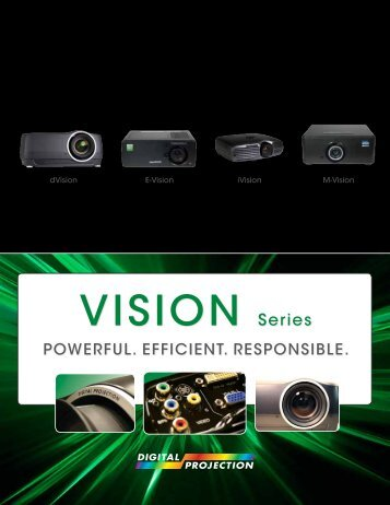 Vision Series Brochure - Digital Projection