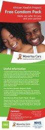 Using condoms - Waverley Care