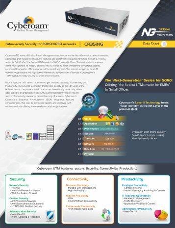 Hardware appliances – cyberoam.