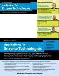 Applications for Enzyme Technologies - Page 5