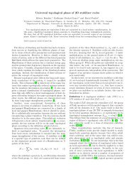Universal topological phase of 2D stabilizer codes - EPIQ ...