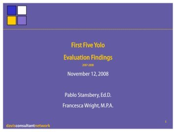 davisconsultantnetwork - First 5 Yolo