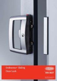 Endeavour™ Sliding Door Lock - Joinery Hardware