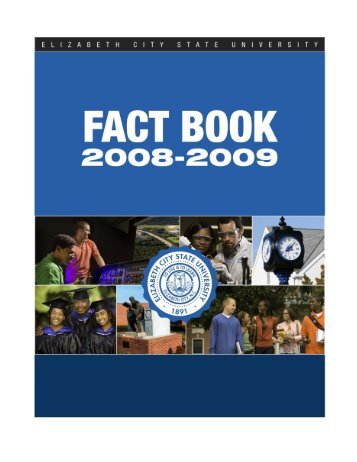 Fact Book 2008-2009 - Elizabeth City State University