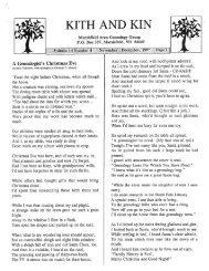 November - December 1997 - Marshfield Area Genealogy Group