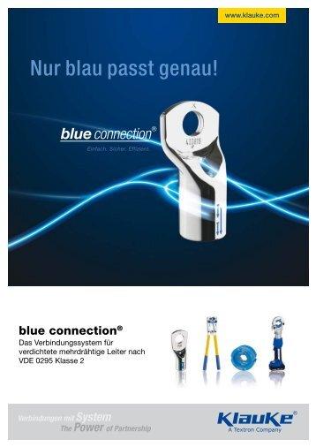 Nur blau passt genau! - Regro