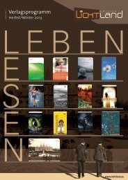 Verlagsprogramm - edition Lichtland