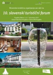 10. slovenski turistični forum