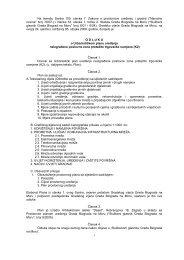 Odredbe za provođenje - Grad Biograd na Moru