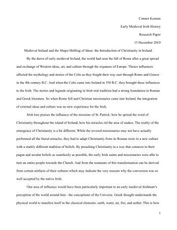 Research paper topics history