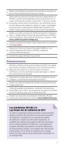 INVIERTA EN SU - CSAC California Student Aid Commission - Page 5