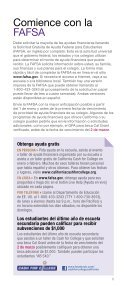 INVIERTA EN SU - CSAC California Student Aid Commission - Page 7