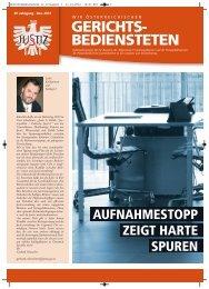 Wir österreichischen Gerichtsbediensteten - ZA Justiz