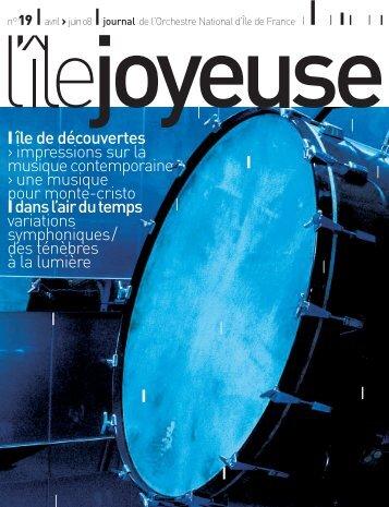 Téléchargez ici l'édition n° 19 (2194 Ko) - Orchestre national d'Ile-de ...