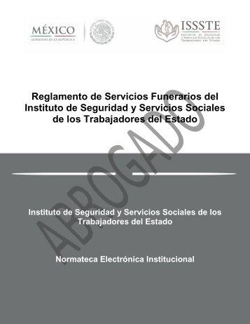 REGLAMENTO DE SERVICIOS FUNERARIOS REGLAMENTO DE ...